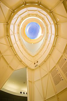 Egg shaped skylight